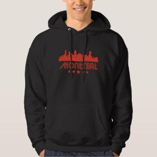 Retro Montreal Skyline Hoodie