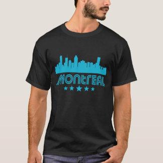 Retro Montreal Skyline T-Shirt