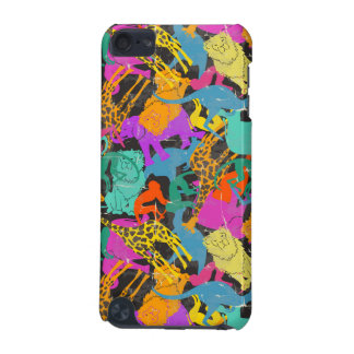 Rétro motif animal de silhouettes coque iPod touch 5G