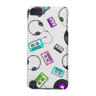 Rétro motif de musique coque iPod touch 5G