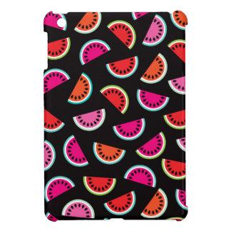 Rétro motif d'été de fruit tropical de melon coque pour iPad mini