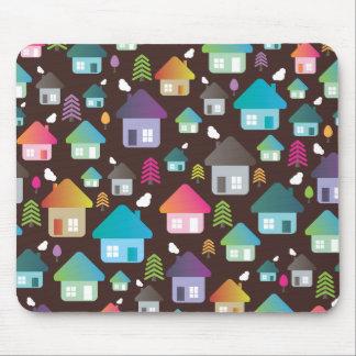 Rétro mousepad à la maison tout neuf mignon de mot tapis de souris