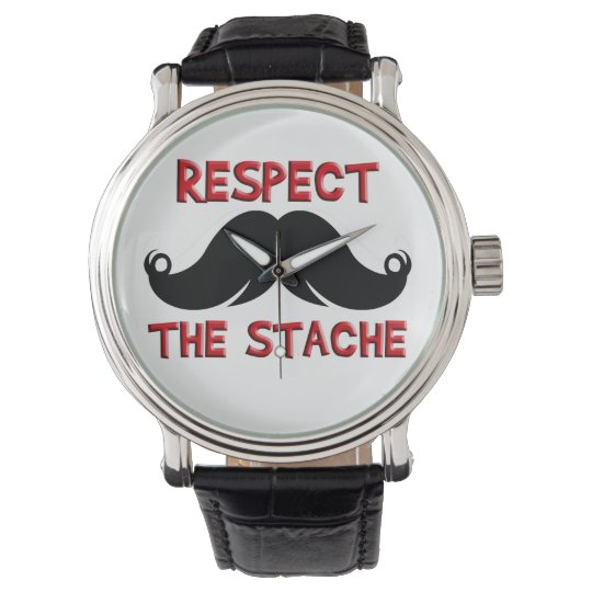Retro Moustache Moustache Watch