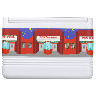 Retro Movie Theater Igloo Can Cooler