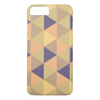 Retro multi color triangle pattern iPhone 7 plus case
