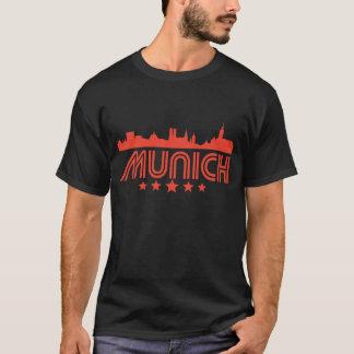 Retro Munich Skyline T-Shirt