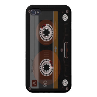 Retro Music Cassette Tape iPhone 4 Case