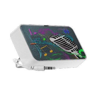 Retro Music Doodle Speaker