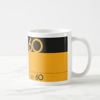 Retro music lover cassette graphic coffee mug