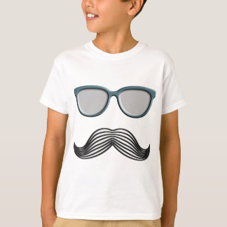 Retro Mustache Moustache Stache T-Shirt