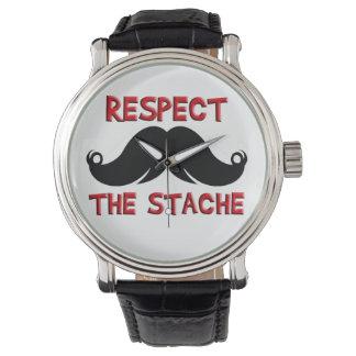 Retro Mustache Moustache Watch