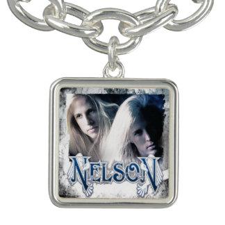 Retro NELSON Charm Bracelet