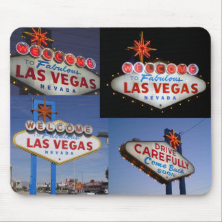 Retro Neon Series: Lss Vegas Sign Mouse Pad