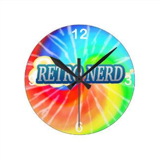 Retro Nerd Wall Clocks