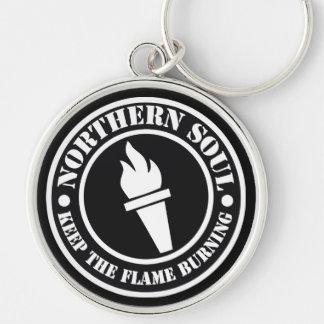Retro Northern Soul style design Keychain