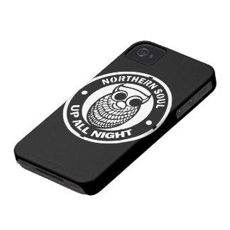 Retro Northern Soul Up All Night iPhone 4 Cases