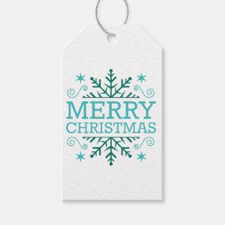 Retro Nostalgic Merry Christmas Gift Tags