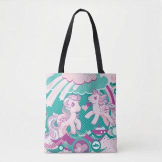 Retro Ocean Design Tote Bag