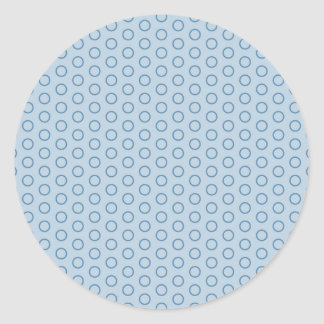 retro oldi circle score 70 vintage samples dab round sticker