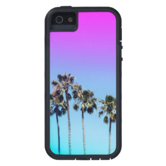 Retro Ombre Southern California Palm Tree Phone iPhone 5 Covers
