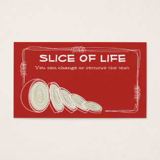 retro onion sketch cooking culinary business ca... business card