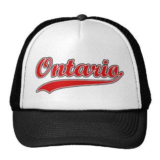 Retro Ontario Trucker Hat