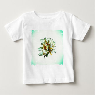 Retro orchids baby T-Shirt