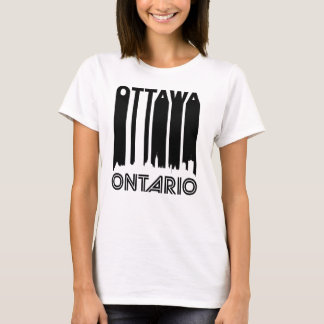 Retro Ottawa Skyline T-Shirt