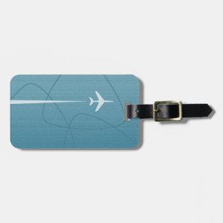 Retro Overseas Jet Travel Luggage Tag