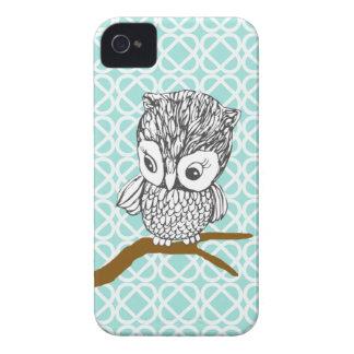 Retro Owl iPhone 4 4S Case Case-Mate iPhone 4 Cases