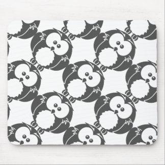 Retro Owl Mouse Pad