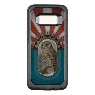 Retro Owl. OtterBox Commuter Samsung Galaxy S8 Case