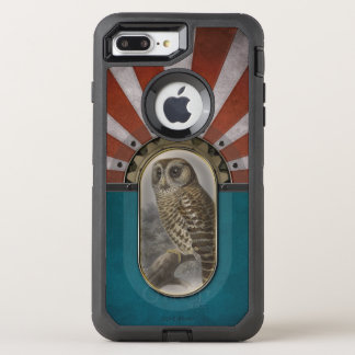 Retro Owl. OtterBox Defender iPhone 7 Plus Case