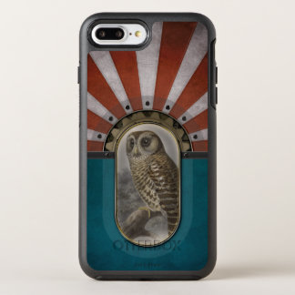 Retro Owl. OtterBox Symmetry iPhone 7 Plus Case