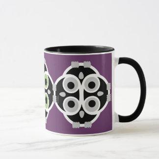 retro owl teacher THANK YOU gift mug