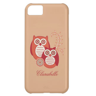 Retro Owls iPhone 5C Covers