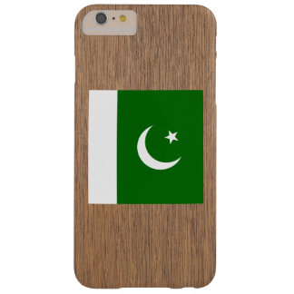 Retro Pakistan Flag Barely There iPhone 6 Plus Case