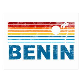 Retro Palm Tree Benin Postcard