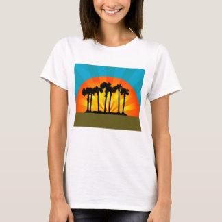 Retro Palm Trees T-Shirt