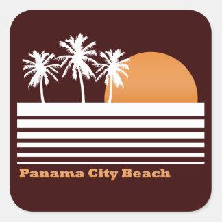 Retro Panama City Beach Stickers