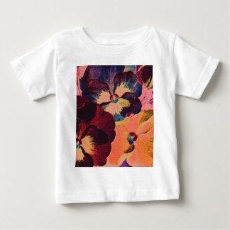 Retro Pansies Baby T-Shirt