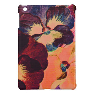 Retro Pansies Cover For The iPad Mini