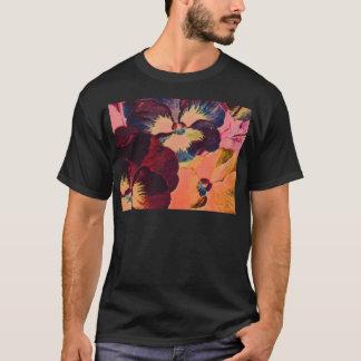 Retro Pansies T-Shirt