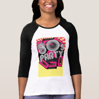 Retro Party Background T-Shirt