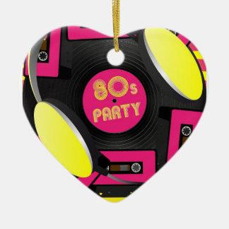 Retro Party Ceramic Ornament