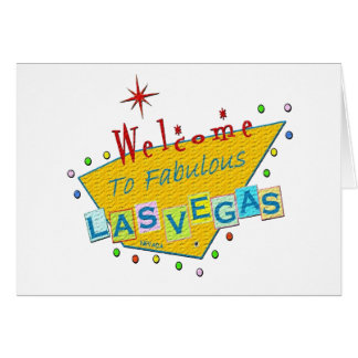 Retro Party in Las Vegas Invitation