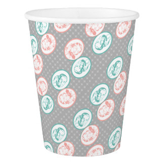 Retro Party Line Call Telephone Men and Women Paper Cup