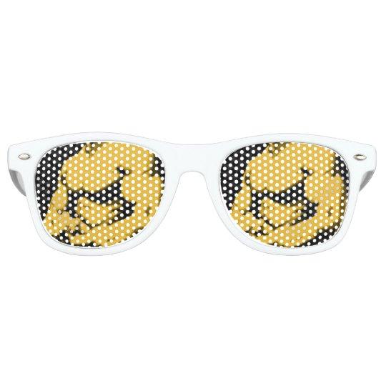 Retro Party Shades, White Party Sunglasses