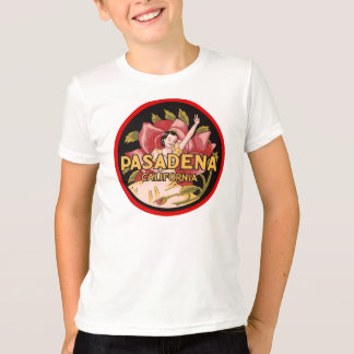 Retro Pasadena California travel ad T-Shirt
