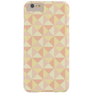 Retro Pastel Peach Triangle Geometric iPhone Case